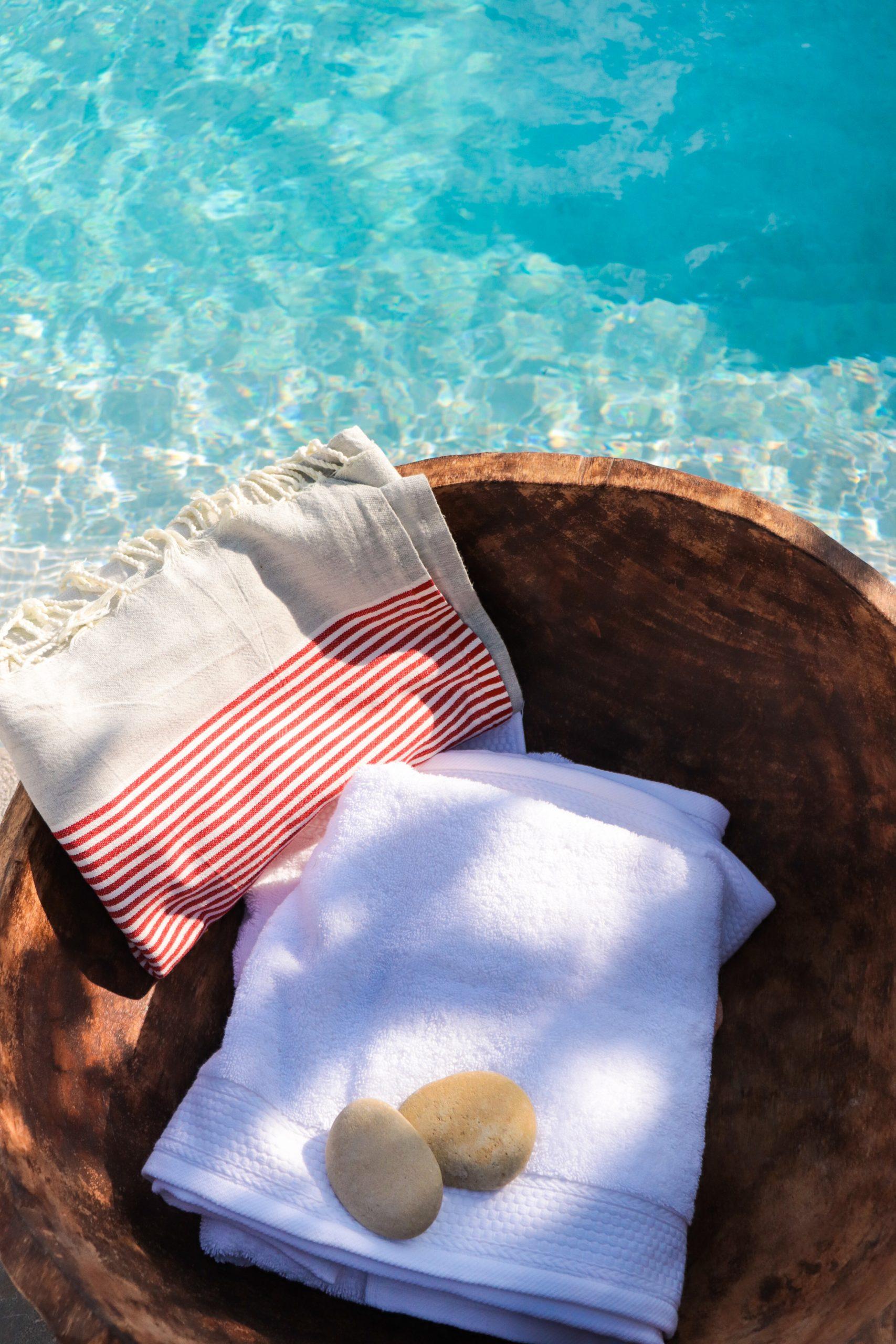 Zwembad hammamdoek